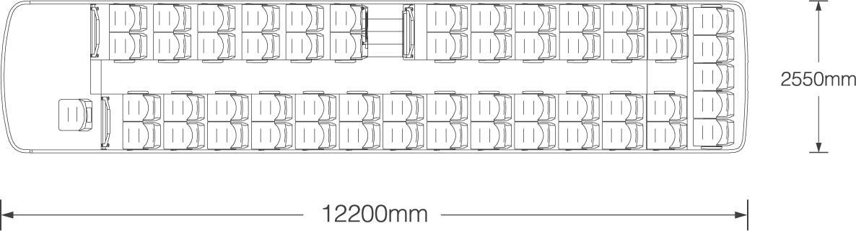 c12 Coach Bus