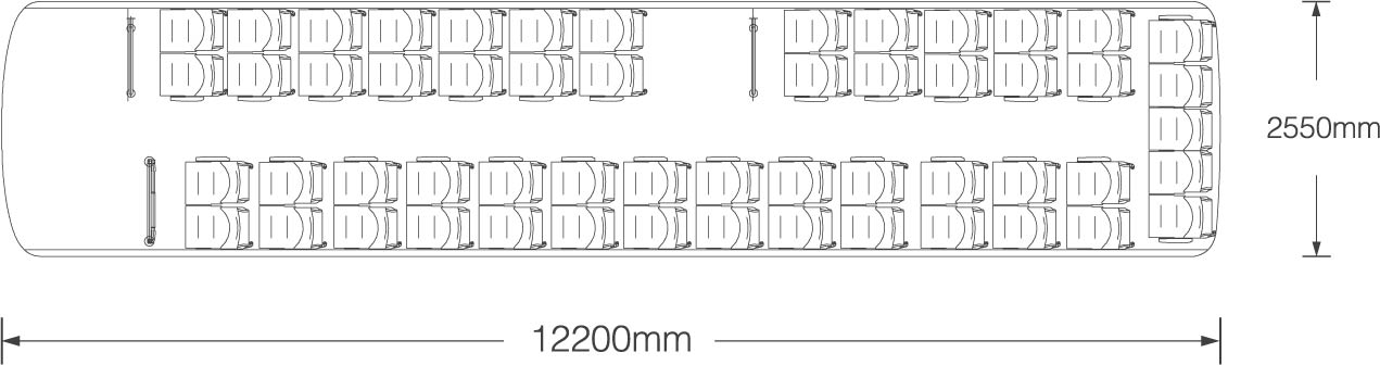 Urban Bus 12 metri
